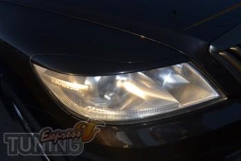 Купить реснички на фары Skoda Octavia A5 (авто с 2009-2012 г.в.)