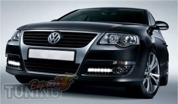 Дневные ходовые огни Фольксваген Пассат Б6 (ДХО для Volkswagen P