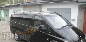 Рейлинги на автомобиль Мерседес Вито В 639 (рейлинги Mercedes Vi