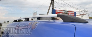 Рейлинги на автомобиль Volkswagen Caddy (продольные рейлинги Фол