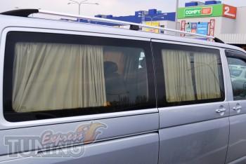 Рейлинги на Volkswagen Transporter T5 (продольные рейлинги Фольк