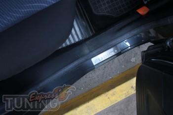 Накладки на пороги Форд Фьюжн в магазине експресстюнинг (защитны