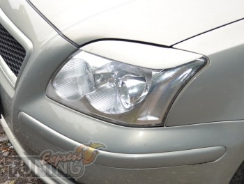 Верхние накладки на фары Toyota Avensis 2 поколения, фото