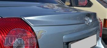 Спойлер оригинальный на Тойота Авенсис 2 (фото ExpressTuning)