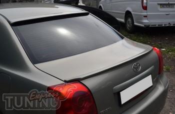 Фирменный лип спойлер для Toyota Avensis 2 седан (купить в Expre