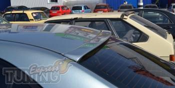 Тюнинг спойлер накладка на заднее стекло Toyota Avensis 2 седан