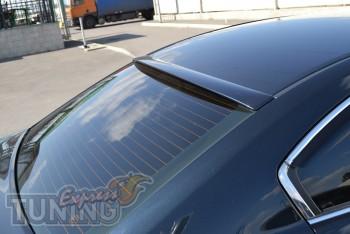 Спойлер на стекло Тойота Авенсис 3 седан (козырек бленда на Aven
