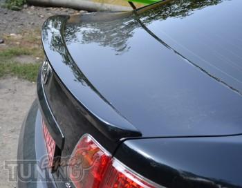 Тюнинг спойлер на багажник Тойота Авенсис 3 фото (купить спойлер