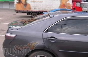 Накладка спойлер на заднее стекло для Toyota Camry V40 (заказать