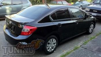 Лип спойлер на багажник Civic 4d (2012-2016)