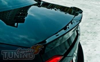 Спойлер на багажник Тойота Камри 50 (задний спойлер Toyota Camry