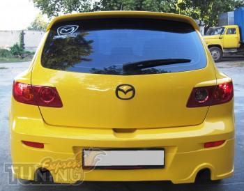 Задний козырек Mazda 3 5d (тюнинг спойлер)