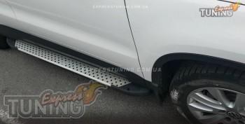 Пороги Фольксваген Тигуан (пороги для Volkswagen Tiguan стиль Al