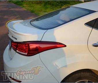 Спойлер на багажник Hyundai Elantra 5 MD