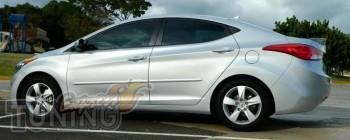 Тюнинг спойлер на багажник Hyundai Elantra md (оригинальный диза