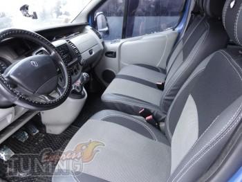 Чехлы в салон Рено Трафик (авточехлы на сиденья Renault Trafic)
