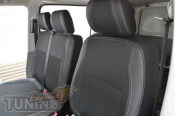 Чехлы Фольксваген Транспортера Т6 (авточехлы на сиденья Volkswag