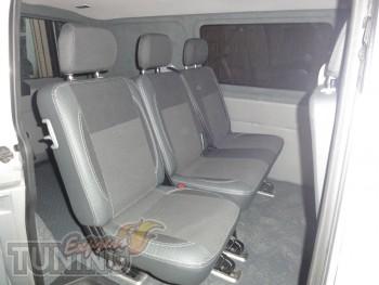 Чехлы Фольксваген Транспортера Т5 (авточехлы на сиденья Volkswag