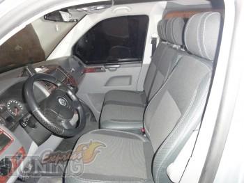 Чехлы в салон Фольксваген Транспортера Т5 (авточехлы на сиденья