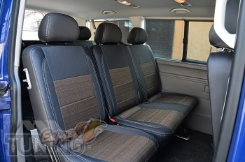 заказать чехлы Volkswagen T5 Caravela