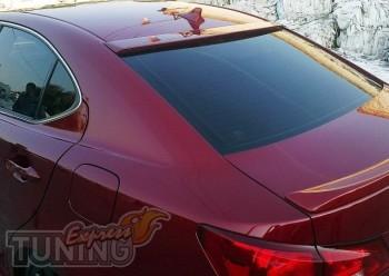 Фирменный козырек на стекло на Lexus Is250