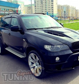 заказать Ветровики БМВ Х5 Е70 (дефлекторы окон BMW X5 E70)