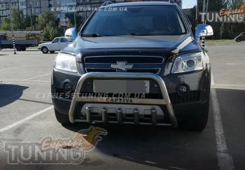 Кенгурятник Шевроле Каптива (защита переднего бампера Chevrolet