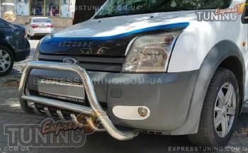 защита переднего бампера Ford Connect 1