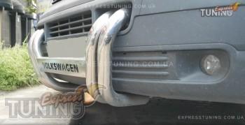 Кенгурятник Фольксваген Транспортер Т5 (защита переднего бампера