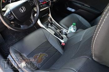 Чехлы для Хонда Аккорд 9 (чехлы на Honda Accord IX)