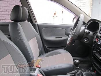Чехлы для автомобиля Шевроле Ланос (авточехлы на сиденья Chevrol