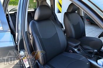 Чехлы в салон Рав 4 3 (чехлы на Toyota Rav4 III)