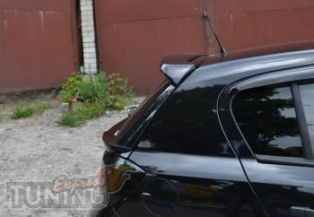 Задний козырек на дверь Opel Astra H