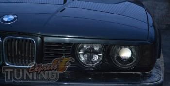 Декоративные накладки на фары Bmw E34 5 серия фото