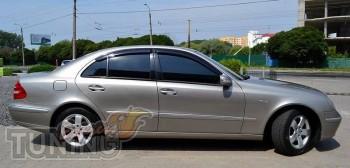 Ветровики Мерседес W211 (дефлекторы окон Mercedes E-Class W211)