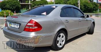 заказать Ветровики Мерседес W211 (дефлекторы окон Mercedes E-Cla