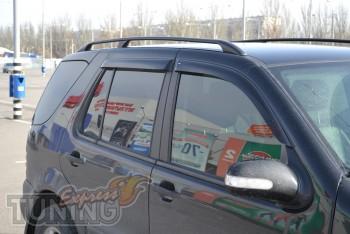 Ветровики на авто Mercedes ML-Class W163 (дефлекторы окон)