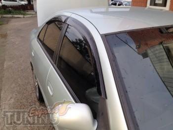 Ветровики Nissan Almera 2 N16(дефлекторы окон )