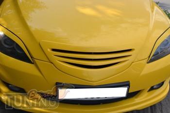 Решетка радиатора Мазда 3 Хэтчбек (тюнинг решетка Mazda 3 2002-2