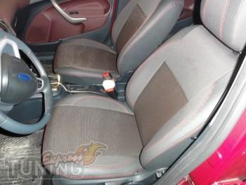 Чехлы в салон Форд Фиеста 6 (купить авточехлы на сиденья Ford Fi