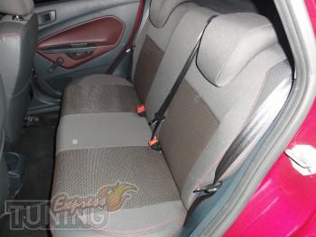 Чехлы для салона Форд Фиеста 6 (авточехлы на сиденья Ford Fiesta