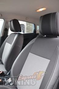 Чехлы в салон Форд Фиеста 7 (купить авточехлы на сиденья Ford Fi