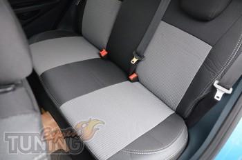 Чехлы в автомобиль Форд Фиеста 7 (авточехлы на сиденья в салон F