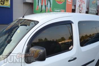Ветровики Renault Kangoo 2 (дефлекторы окон)