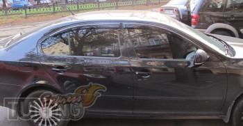 дефлекторы окон Skoda Octavia A4 Tour