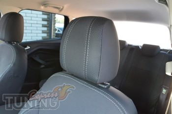 Чехлы Форд Куга 2 (авточехлы на сиденья Ford Kuga 2)