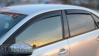 Ветровики Volkswagen Polo 5 (дефлекторы окон Фольксваген Поло 5