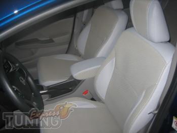 Чехлы Хонда Сивик Нью седан (авточехлы на сиденья Honda Civic Ne