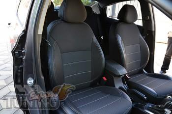 Чехлы Хендай Акцент 4 хэтчбек (авточехлы на сиденья Hyundai Acce