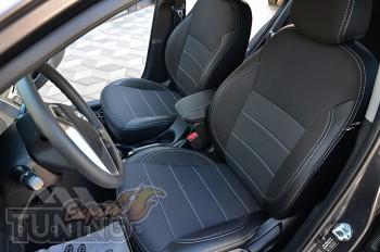 Чехлы сидений Hyundai Accent 4 hatchback